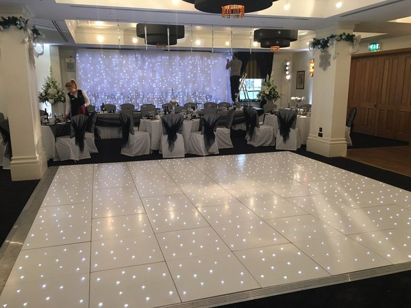 White Starlok LED Dance Floor