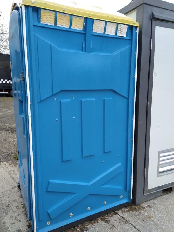 Blue Single Toilet Units