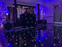 Black LED Starlight Dancefloor 16ft x 14ft