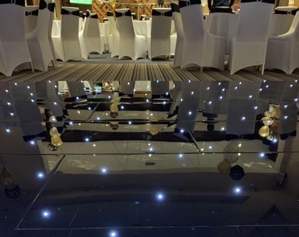 Black LED Starlight Dancefloor