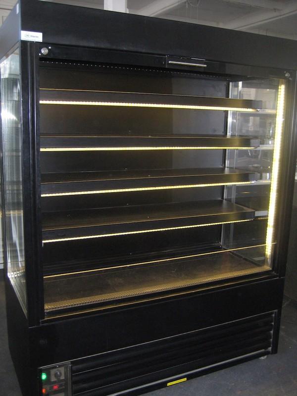 Refurbished Frost Tech 1.5 Metre Black LED Multideck Display Chiller
