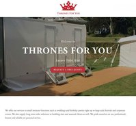 Business Toilet wedding hire