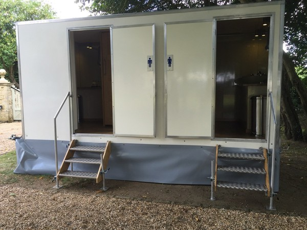 3 + 1 toilet trailer for sale