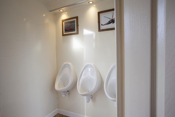 Modern toilet hire business for sale