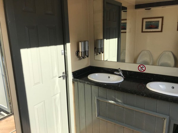 Toilet trailer hire business for sale