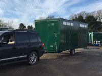 4 Bay Refurbished Shower Trailer
