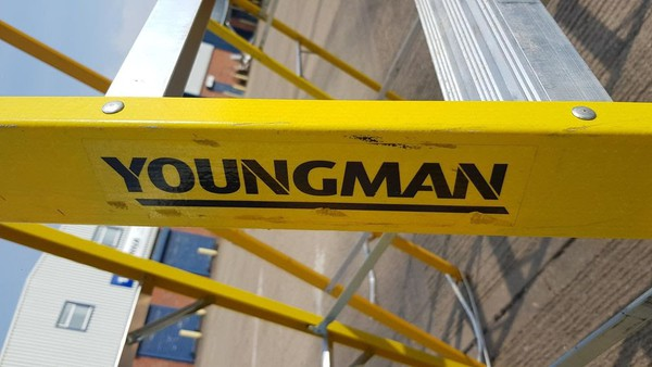 Swing back ladders for sale