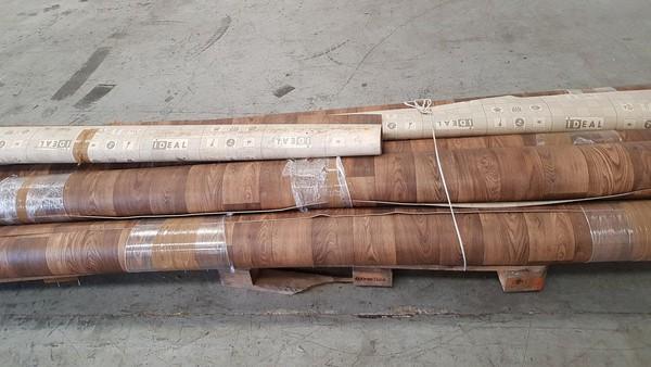 Used vinyl flooring