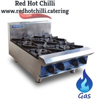 Blue Seal 4 Burner Cooktop