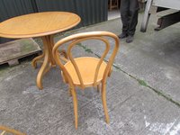 Bentwood Chairs and Tables