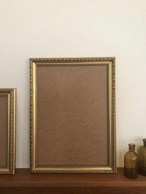 Gold A3 Frames