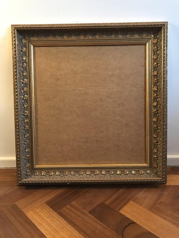Ornate Gold frame