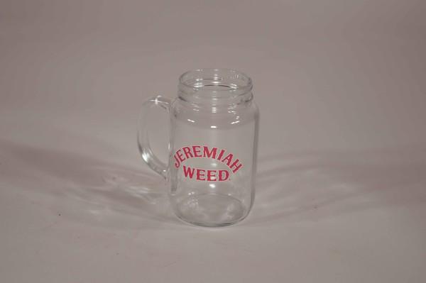 Jam jar beer glass