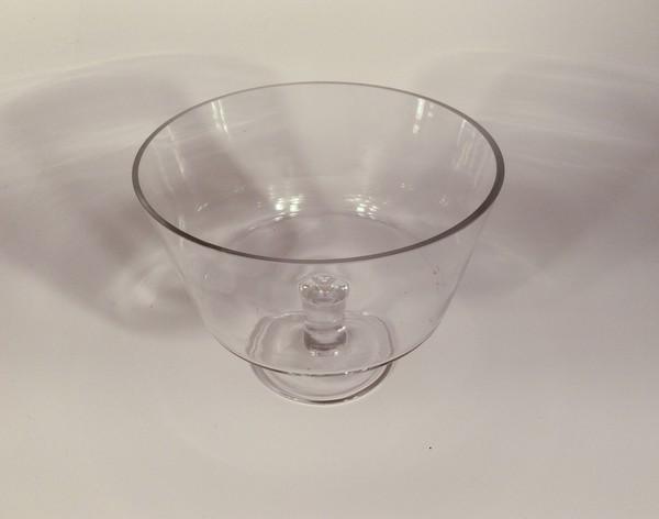 Large glass bowl