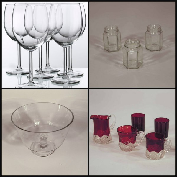 Mixed Glassware