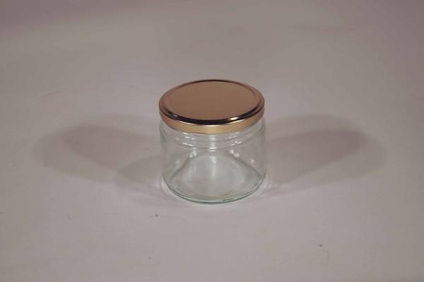 Short round jars