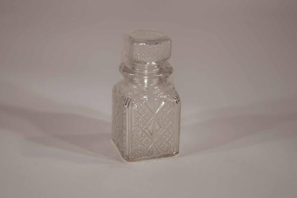 Small square decanter