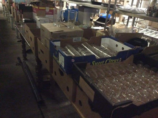 Job lot of glasses