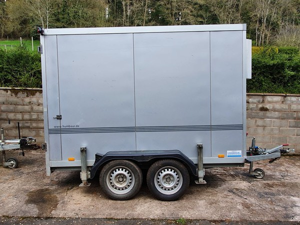 Humbaur 3m Twin Axle Chiller Trailer