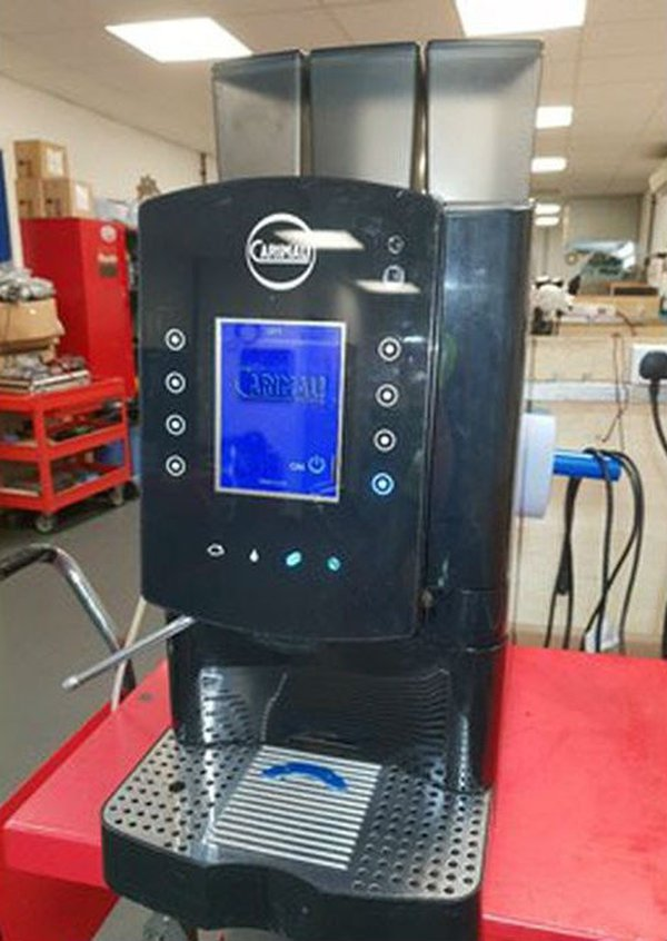 Carimali Solar Touch Drinks Machine