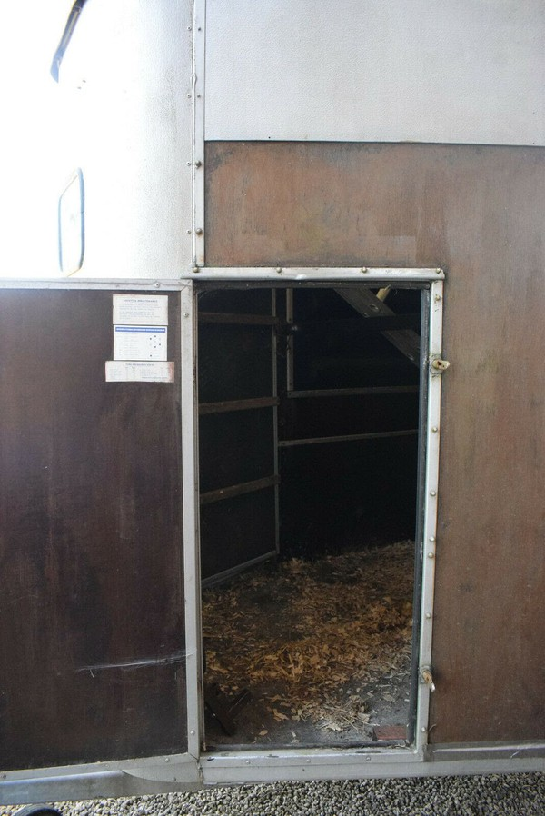 Secondhand horse box