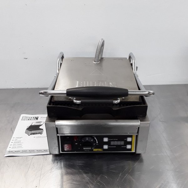 Ex Demo Buffalo L501 Panini Contact Grill (8645)