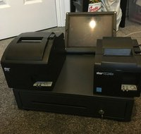Cash drawer and printers