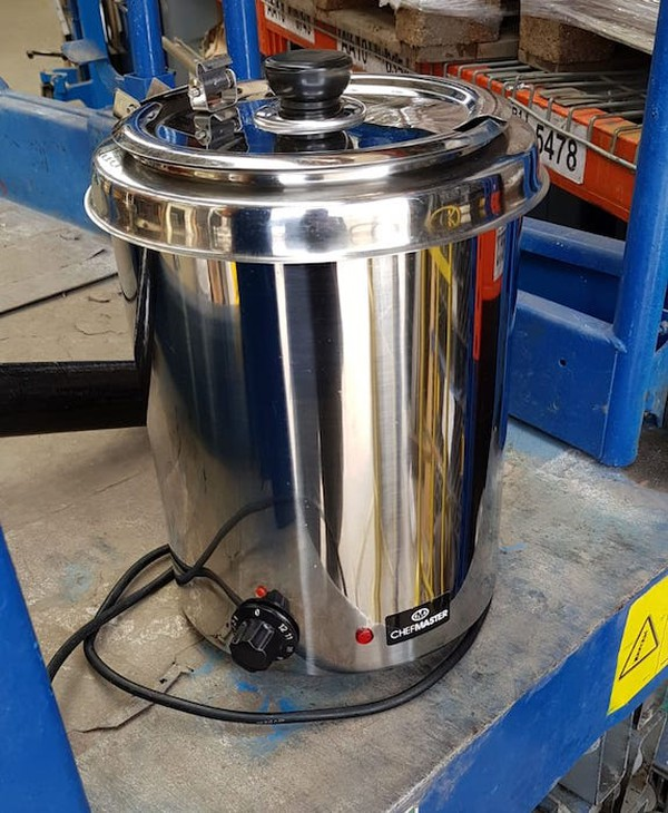 Large Stainless Steel Soup Kettle
