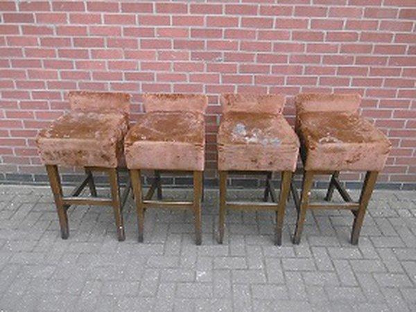 High bar stools