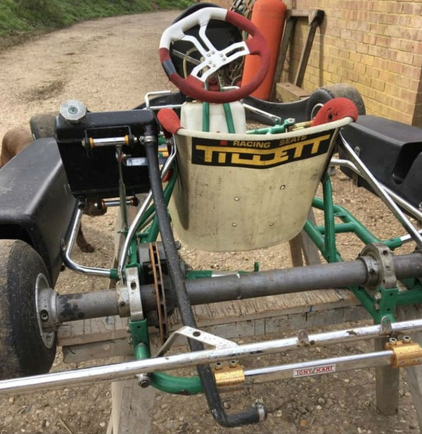Tony Kart Chassis with wheels / brakes