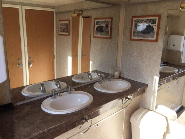 Used 3 + 1 Toilet Trailer Unit
