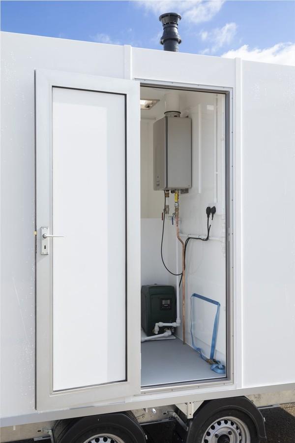 Mobile 4 Bay Shower Unit
