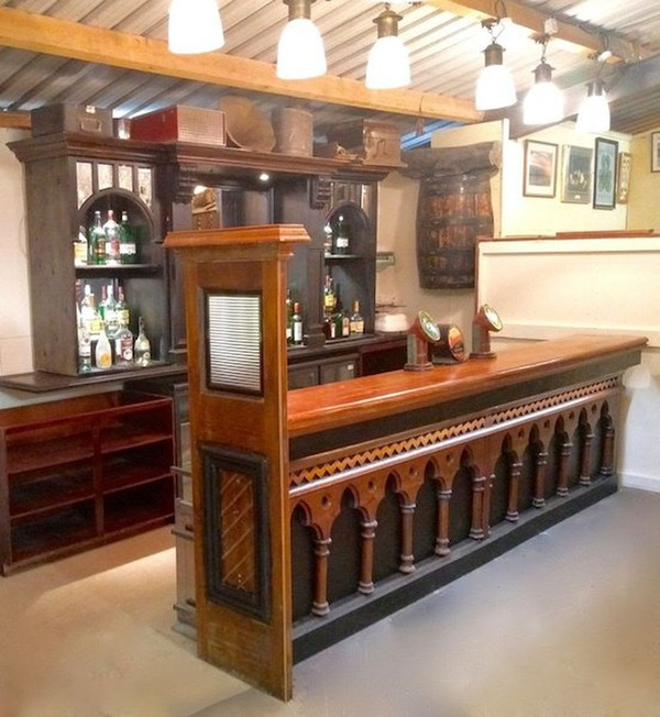 Traditional Bar Counter and Back Fitting