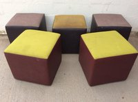 Mixed cube stools