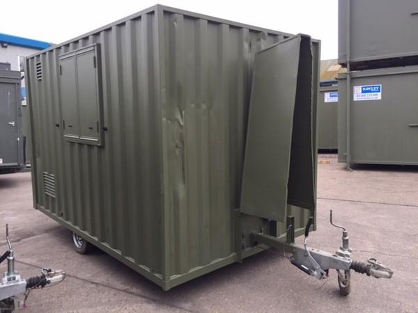 Secondhand welfare trailer