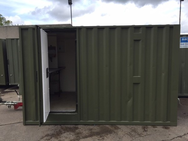 Used mobile welfare trailer