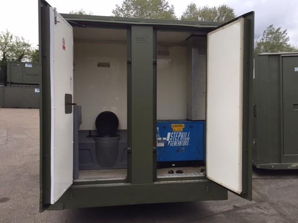 Used welfare trailer
