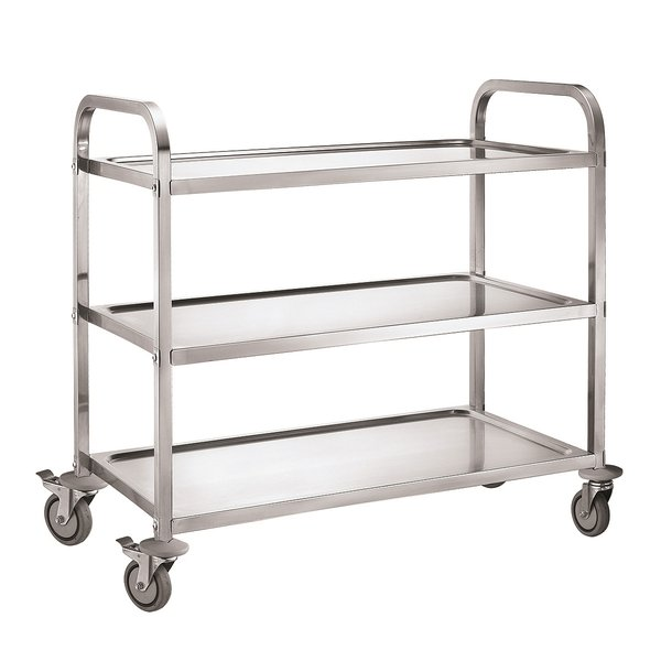 Food trolley on wheels