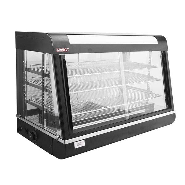 Glass fronted counter top pie oven