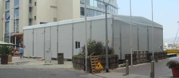 12M x 15M Roder HTS Temporary Building for sale