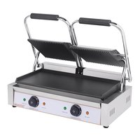 Twin contact grill