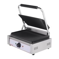 Single ribbed Paganini grill