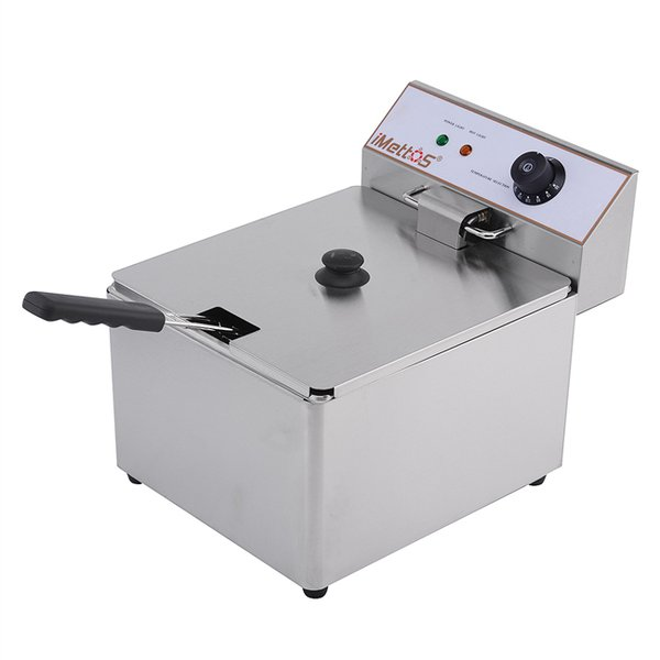 Counter top fryer electric