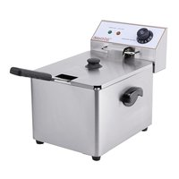 Electric single tank counter top fryer