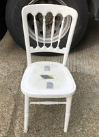 White Wooden Cheltenham Chairs