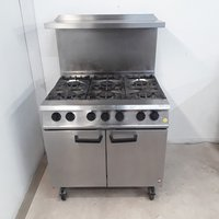 Used Falcon Dominator G2101 OT 6 Burner Range Cooker (8697)