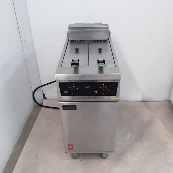 Used Falcon E421 Double Freestanding Fryer 2 x 10L (8700)