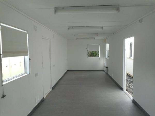 Open plan site office