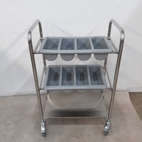New Cutlery Serving Trolley (8710)