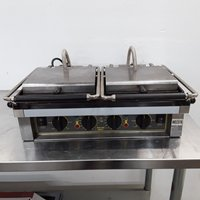 Used Roller Grill  Double Panini Contact Grill(8711)